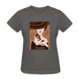 A Chocolate Eating Classy Lady - Women's - charcoal