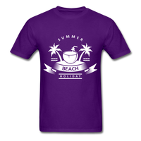 Summer Beach Holiday - Men's Tee - purple