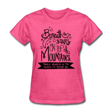 Beneath the Stars - Women's - heather pink