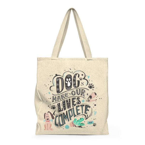 Dogs Lives Complete - Large Tote