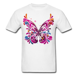 Abstract Butterfly - white
