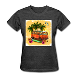 VW Bus Surfing - Women's - heather black