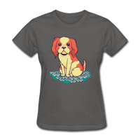 Happy Puppy - Women's - charcoal