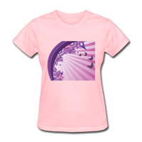 Sun Rays and Butterflies - Women's - pink