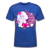 Beautiful Lady Poodle - Unisex - mineral royal