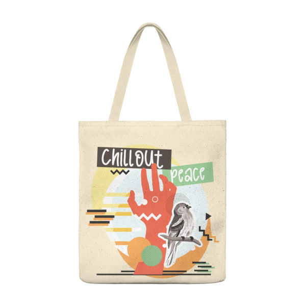 Chill Out Peace - Large Tote