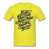 Create Your Own Path - Men's - yellow