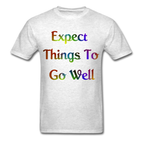 Expect Things - Unisex - light heather grey