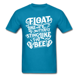 Float Like a Butterfly - turquoise