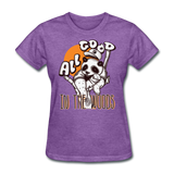 All Good in the Woods Panda - Women's - purple heather