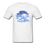 Palm Trees with Sky - Men's Tee - white