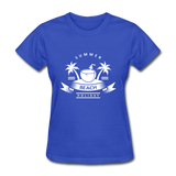 Summer Beach Holiday - Women's Tee - royal blue