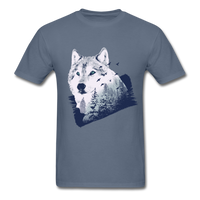 Wolf in the Forest - Men's - denim