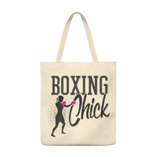 Boxing Chick - Large Tote