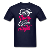 Every Little Thing is Gonna Be Alright - Men's - navy