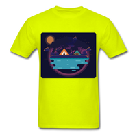 Camping on the Lake - Unisex - safety green