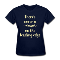 There's Never a Crowd - Women's2 - navy