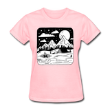Peaceful Campsite - Women's - pink