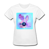 Gemini Lady on Blue - Women's - white