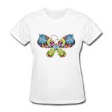 Patterned Butterfly - Women's - white