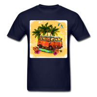 VW Bus Surfing - Unisex - navy