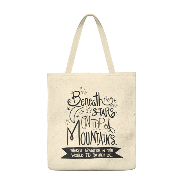 Beneath the Stars - Large Tote