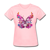 Abstract Pink Butterfly - Women's - pink