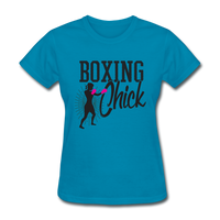 Boxing Chick - Women's - turquoise