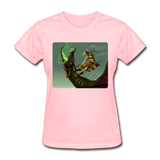 Elf on a Dragon - Women's - pink