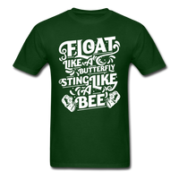Float Like a Butterfly - forest green