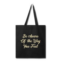 Be Aware - Tote - black