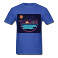 Camping on the Lake - Unisex - royal blue