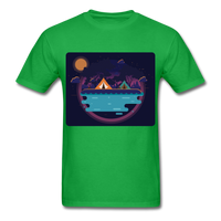 Camping on the Lake - Unisex - bright green