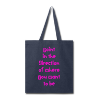 Point in the Direction - Tote2 - navy