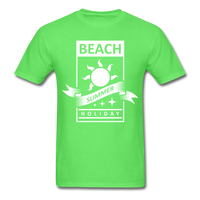 Beach Summer Holiday Design #2 - Men's Tee - kiwi
