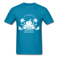 Summer Beach Holiday - Men's Tee - turquoise