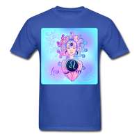 Leo Lady on Blue - Unisex - royal blue