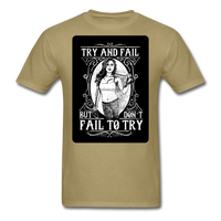 Try and Fail - Unisex - khaki