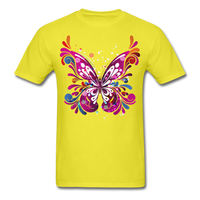 Abstract Butterfly - yellow