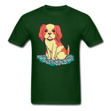 Happy Puppy 2 - Unisex - forest green