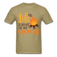 Life is Better Campfire - Men's - khaki