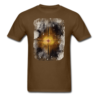 Brown and White Fractal - Unisex - brown