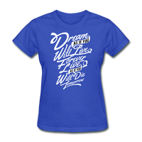 Dream As If -  Women's - royal blue