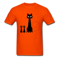 Black Cat Family - Men's - orange