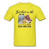 Get Lost in the Right Direction - Men's - yellow