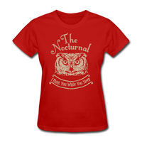 Nocturnal Owl - red
