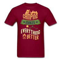 Camping Makes Everything - Unisex - burgundy