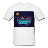 Camping on the Lake - Unisex - white