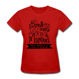Beneath the Stars - Women's - red