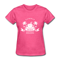 Summer Beach Holiday - Women's Tee - heather pink
